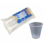 Clear Disposable Plastic Cups (5)
