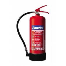 10 x 6kg ABC Dry Powder Fire Extinguisher With Brackets