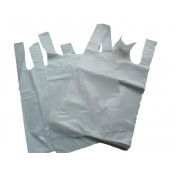 White Carrier Bags 254mm x 381mm x 457mm  (7)