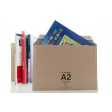 50 x LIL Rigid Cardboard Envelopes 'A2' Size 334mm x 234mm