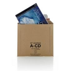 500 x LIL Rigid Cardboard Envelopes 'CD' Size 180mm x 164mm