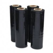 Black Pallet Stretch Shrink Wrap (10)