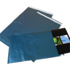 2000 x Metallic Blue Catalogue Poly Mailing Bags 229mm x 305mm