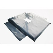 Grey Mailing Bags 102mm x 152mm  (6)
