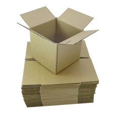 100 x Single Wall Cardboard Packing Postal Boxes 18
