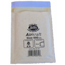 300 x Jiffy Airkraft Size 000 (A) Padded Envelopes 90x145mm[5055502314402]