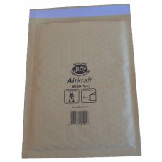 200 x Jiffy Airkraft Size 1 (D) Padded Envelopes 170x245mm[5055502314990]