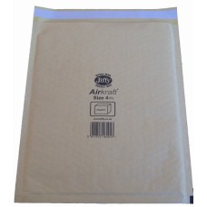 200 x Jiffy Airkraft Size 4 (G) Padded Envelopes 240x320mm[5055502315676]