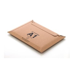 25 x LIL Rigid Cardboard Envelopes 'A1' Size 235mm x 180mm