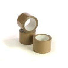 72 x Rolls Brown Packing Parcel Tape 48mm x 66m[5055502347073]